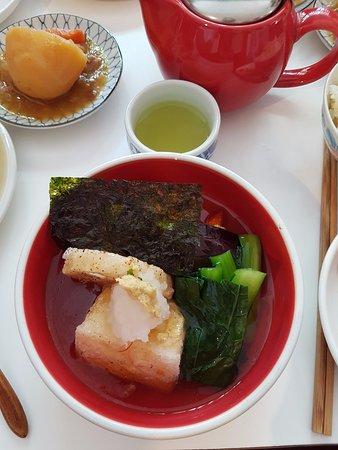 Collingwood, ออสเตรเลีย: Age Dashi Tofu Teishoku