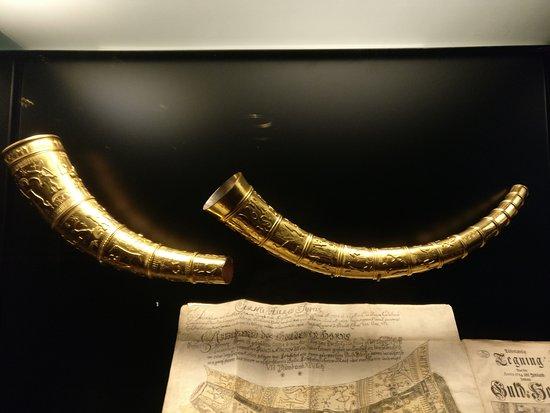 Nationalmuseet: Guldhornene