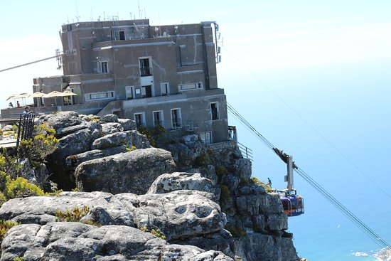 Table Mountain Aerial Cableway: Upper Cableway Station