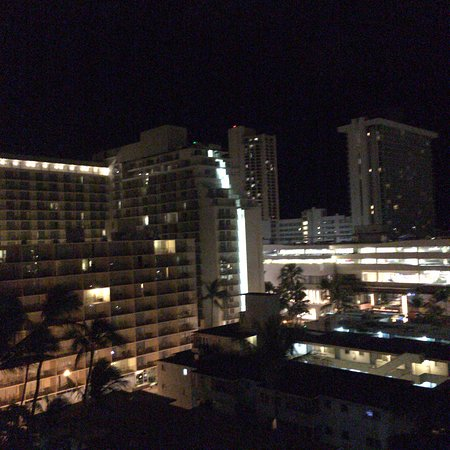 Ilima Hotel: 10階からの夜景