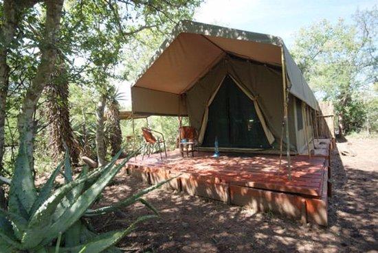 région de malelane camp de tentes