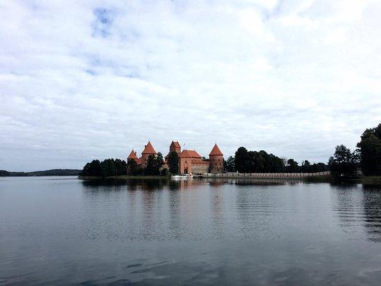 Trakai, Litwa: Castle in a small island
