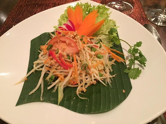 Thai Orchid: Papaya Salad