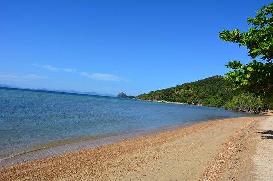 Balinsasayaw Resort: The beach