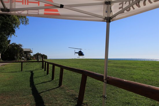 Tangalooma, Australien: My ride landing