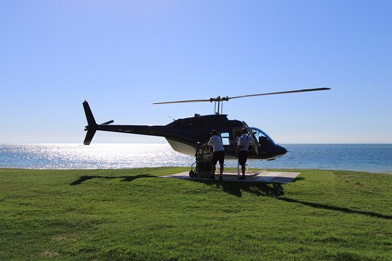 Tangalooma, Australien: My ride is getting some fuel