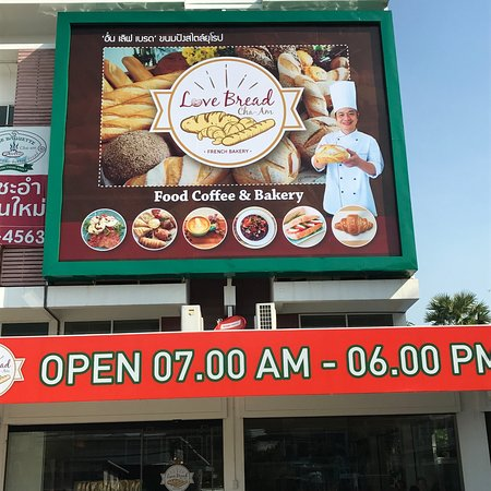 Love Bread Cha-am: Food Coffee&Bakery