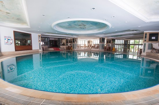 Isis Hotel : Kapalı Havuz-SPA Center