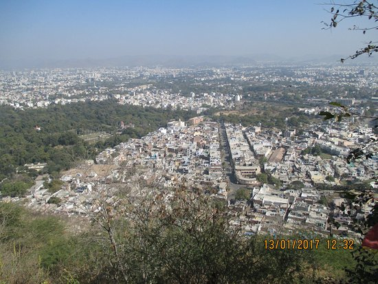 Machla Magra (Fish Hill) : View from Machla Magra