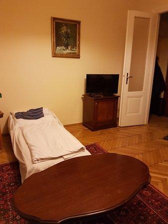 Haydn Hotel Vienna: Salottino con letto