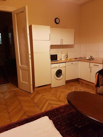 Haydn Hotel Vienna: Angolo cottura
