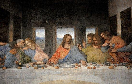Il cenacolo di leonardo da vinci dettaglio bild fr n for Il cenacolo bagno di romagna