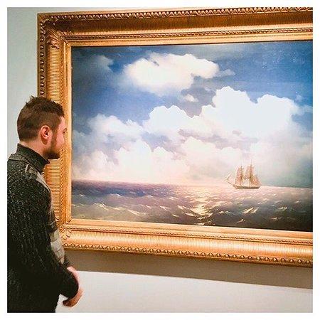 Третьяковская галерея на Крымском валу: Выставка Айвазовского