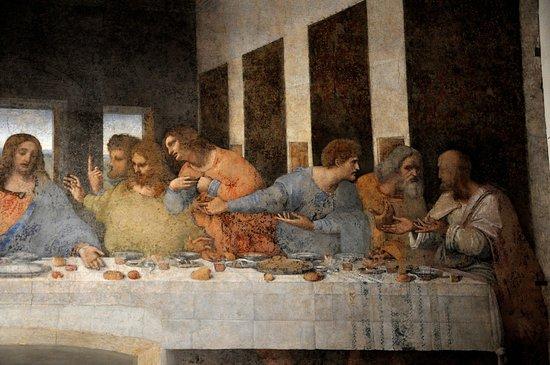Il cenacolo di leonardo da vinci bild fr n nattvarden for Il cenacolo bagno di romagna