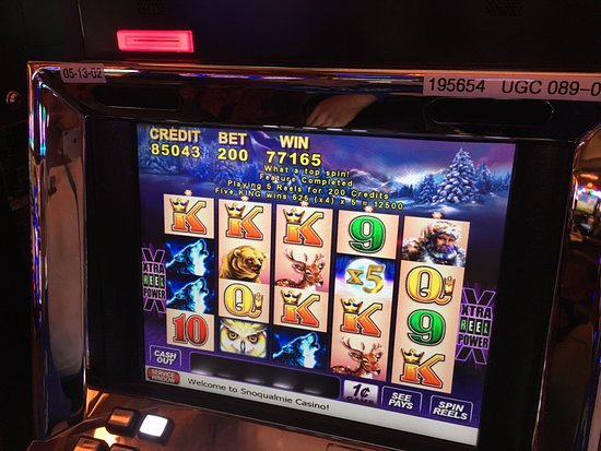 Snoqualmie casino slot machines casino games with free play