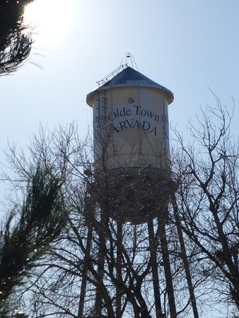 Arvada, Κολοράντο: Water Tower catches Your Attention