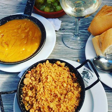 Alcázar de San Juan, España: Al la rica comida Manchega