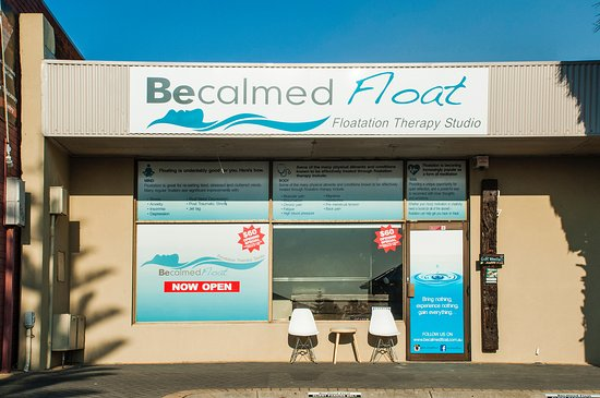 North Beach, Australia: Welcome to Becalmed Float