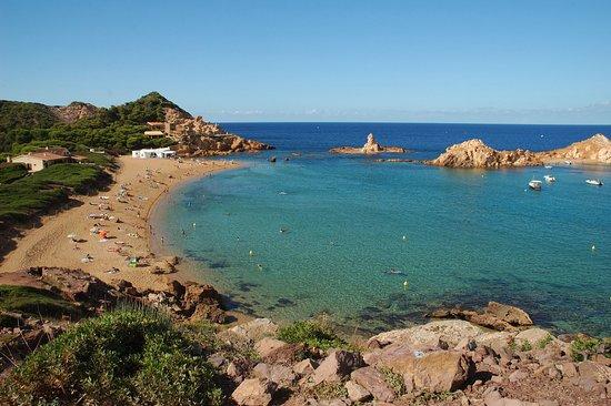 Mahon, Spain: cala pregonda