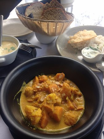 Maynooth, Irlandia: Veggie dish the best I've had so far