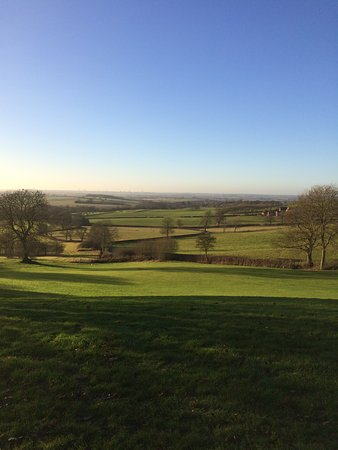 Northamptonshire, UK: Back down the cardiac hill...