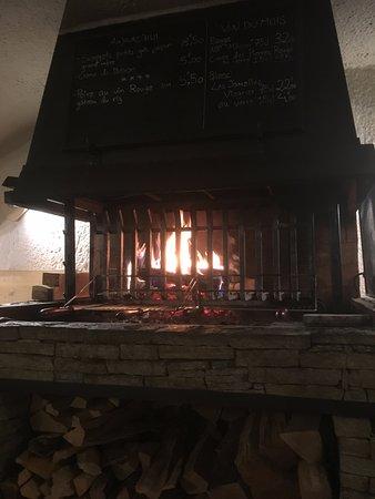 Ла-Саль-лез-Альп, Франция: la cheminée