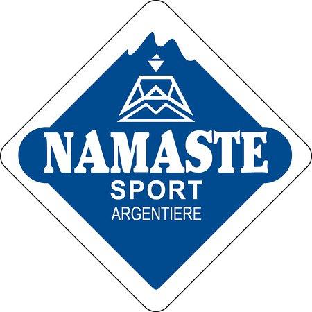 Argentière, Francia: Namaste Sport logo