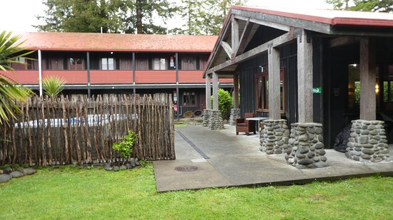 National Park Village, Nuova Zelanda: de binnenplaats