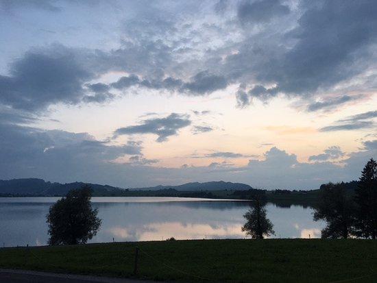 Ferienhof am See: Aussicht auf den See