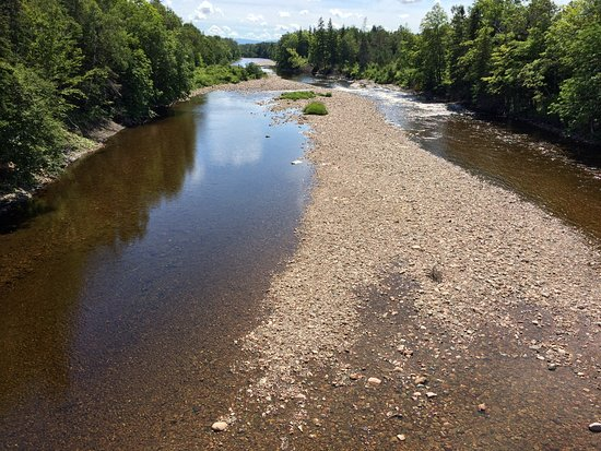 Margaree Forks, Canadá: Margaree river.  Photo by Jimmie Pedersen