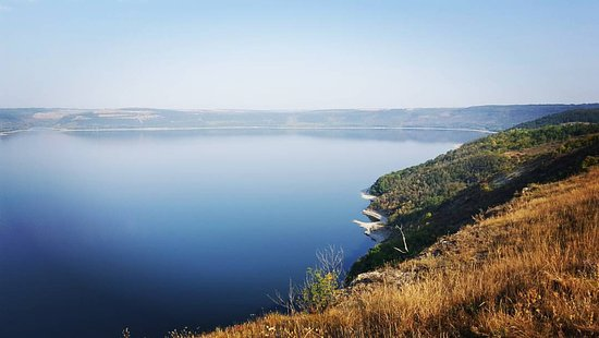 Kamianets-Podilskyi, ยูเครน: Вид на залив