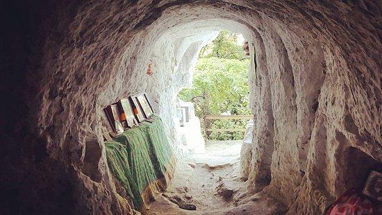 Kamianets-Podilskyi, ยูเครน: монастырь в скале