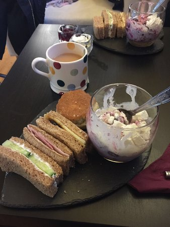 Carsington, UK: The afternoon tea.