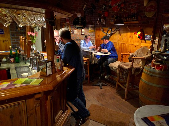 Lunz am See, Austria: The pub room