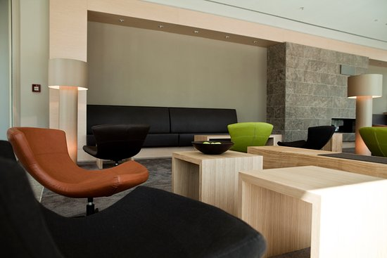Atlantic Hotel: Sitzgelegenheiten in der Lobby