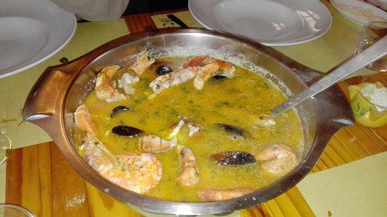 Estellencs, Spanje: Arroz de pescado