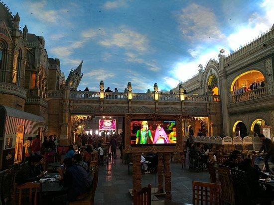 Kingdom of Dreams: Inside view