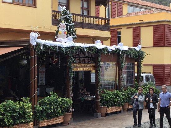 restaurante aristides decoracin navidea