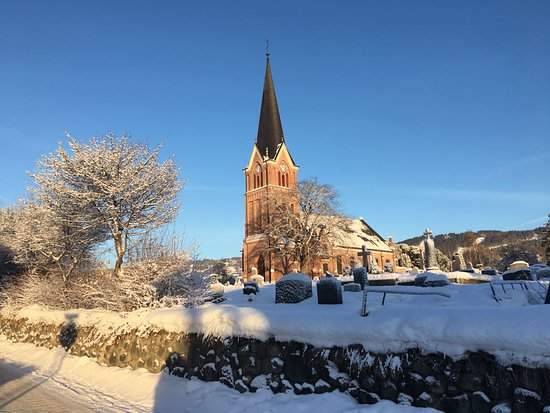 Lillehammer Church: From the west
