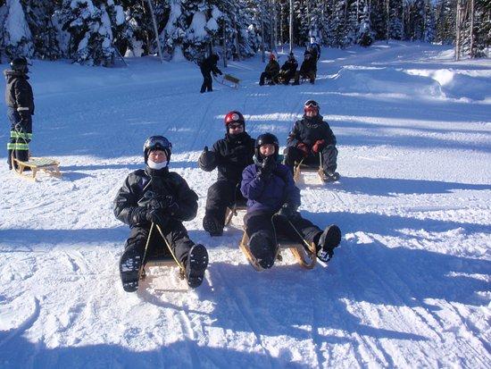 Petite-Riviere-Saint-Francois, Καναδάς: Petite pratique avant la descente