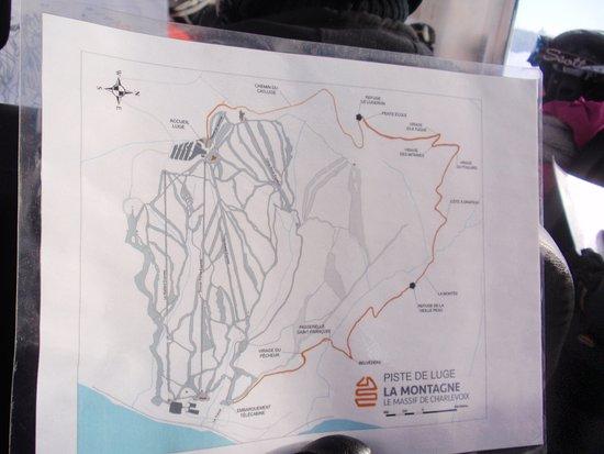 Petite-Riviere-Saint-Francois, Καναδάς: Photo du trajet de la descente