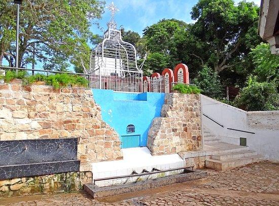 Caacupe, Παραγουάη: Tupasy Ykua   (Pozo de la Virgen o Manantial de la Virgen)