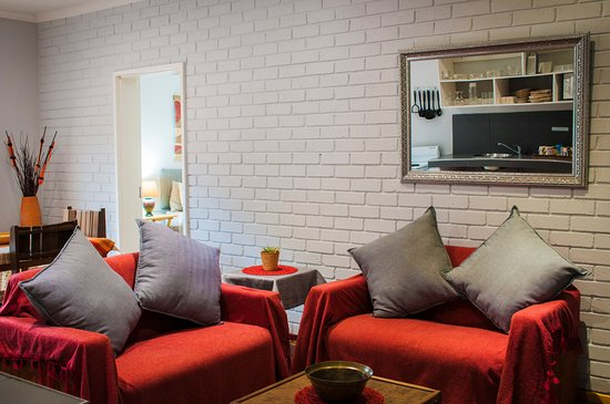 Sabie, جنوب أفريقيا: Self catering Unit 2 Lounge / Dining