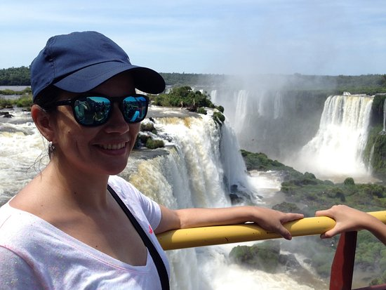 Cataratas do Iguaçu: Visual no topo do elevador panorâmico!