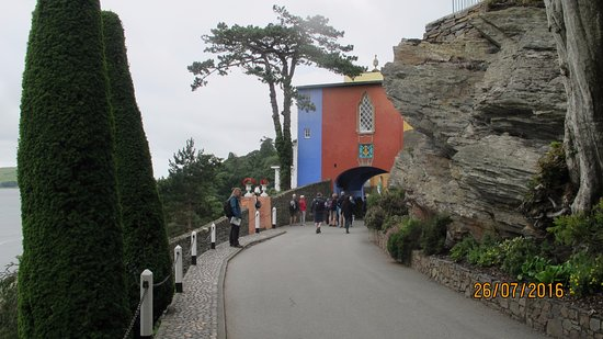 Portmeirion, UK: The entrance