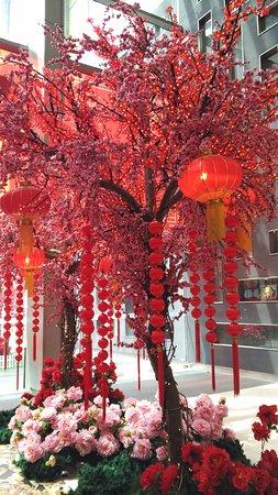 Pavilion KL: Chinese New Year Decoration At Bukit Bintang Entrance