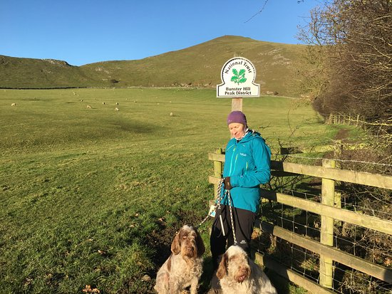 Ilam, UK: On the walk over to Dovedale