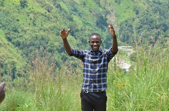 Fort Portal, Uganda: Hillary an expert guide at Trek Rwenzori Tours in game driving, Hot springs and hiking  in Ugand