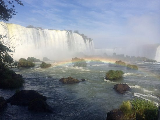 Cataratas do Iguaçu: Beautiful view of the falls.