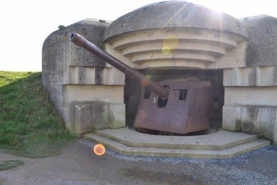 Longues-sur-Mer, Francja: Batterie de Longues